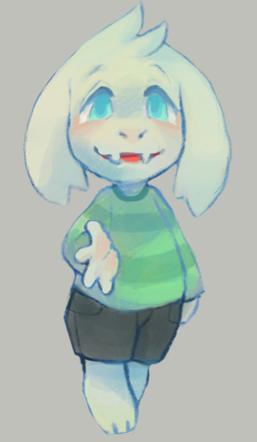 Asriel, The Goat-Child  Tumblr10