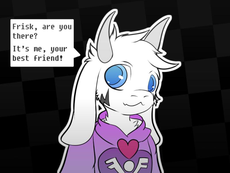 Asriel, The Goat-Child  Undert10