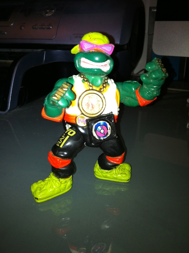 michelangelo tartarughe ninja rapper!!! Img_1010