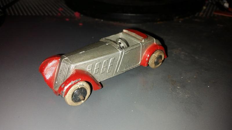 dinky toys roadster sport 22 C 1933/1934 1 er dinky française 20151221