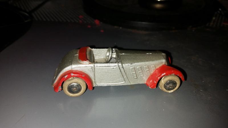dinky toys roadster sport 22 C 1933/1934 1 er dinky française 20151222