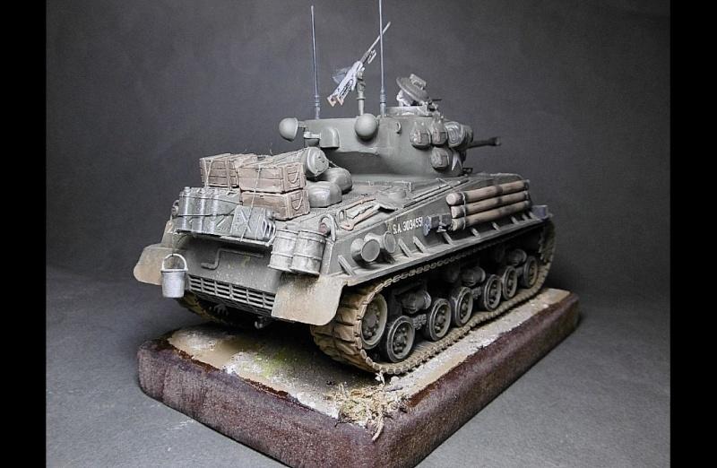 "Sherman M4A3 version "" FURY "" Italeri 1/35 Fin_310"