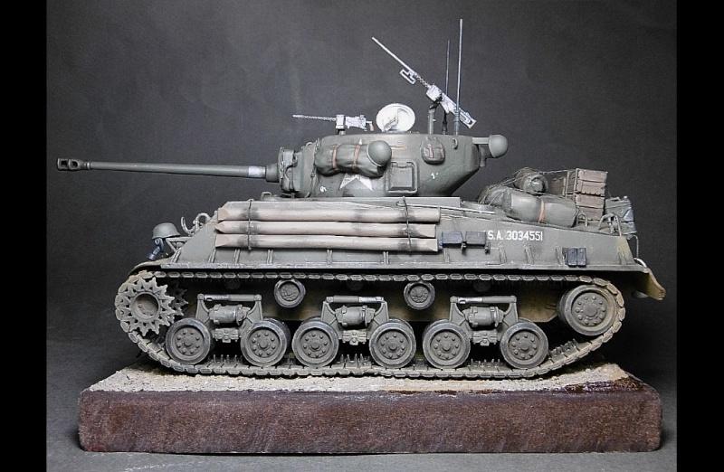 "Sherman M4A3 version "" FURY "" Italeri 1/35 Fin_510"