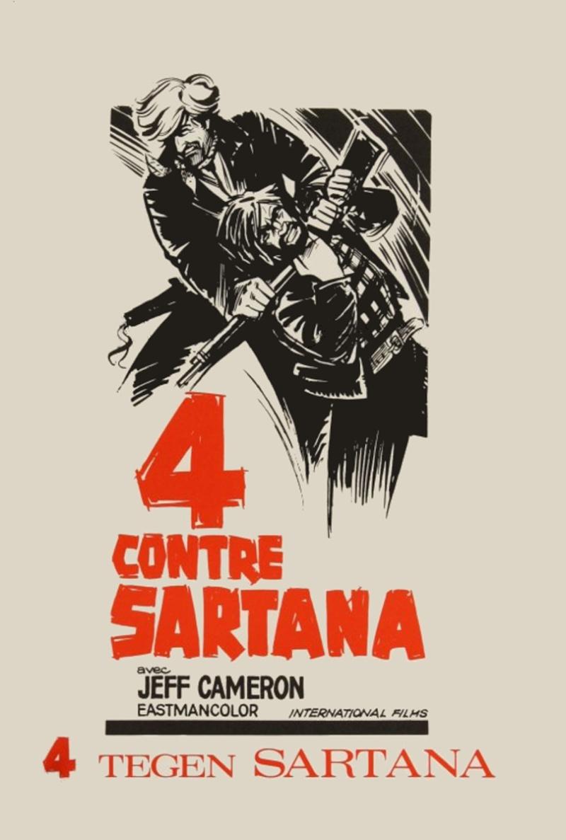 Quatre pour Sartana - E Vennero in Quatro per uccidere Sartana - Demofilio Fidani - 1969 4pour_10