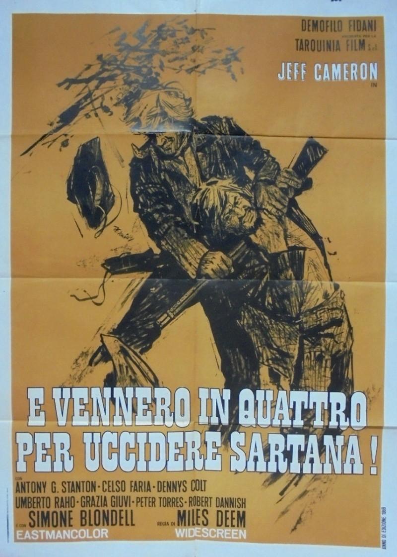 Quatre pour Sartana - E Vennero in Quatro per uccidere Sartana - Demofilio Fidani - 1969 4pour_13