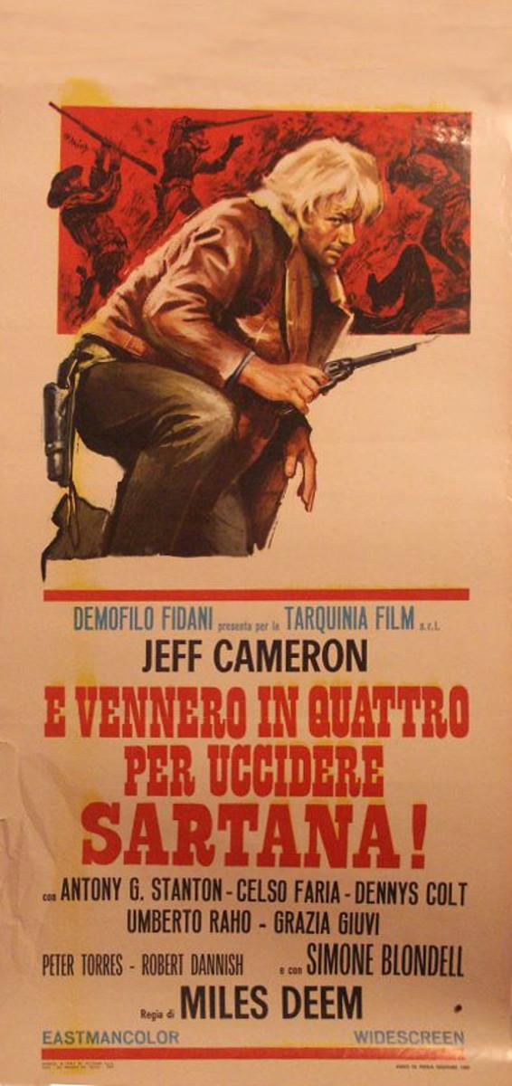 Quatre pour Sartana - E Vennero in Quatro per uccidere Sartana - Demofilio Fidani - 1969 4pour_14