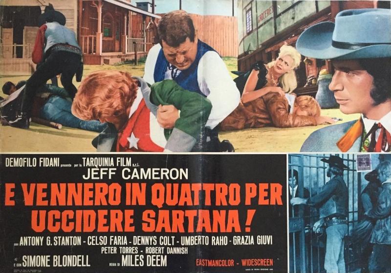 Quatre pour Sartana - E Vennero in Quatro per uccidere Sartana - Demofilio Fidani - 1969 4pour_15