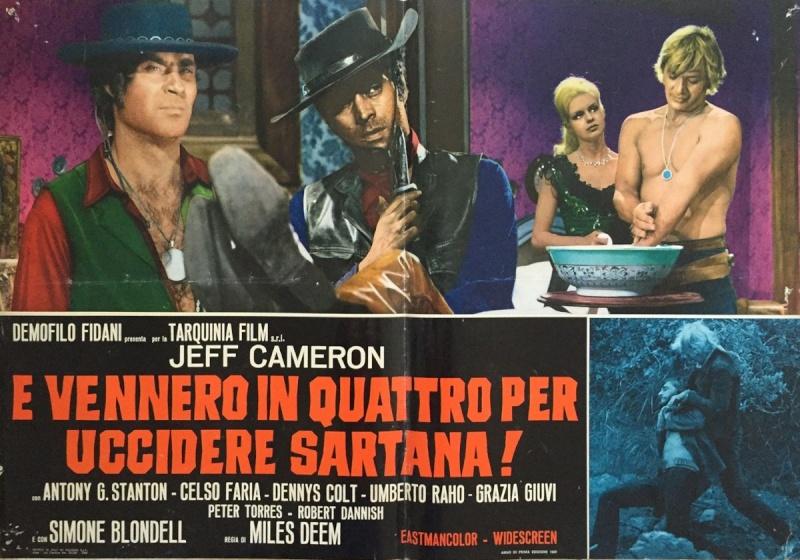 Quatre pour Sartana - E Vennero in Quatro per uccidere Sartana - Demofilio Fidani - 1969 4pour_16