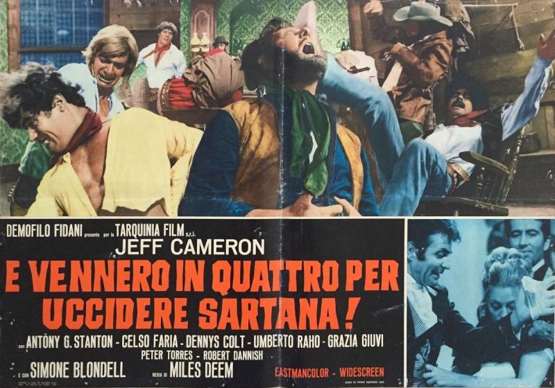 Quatre pour Sartana - E Vennero in Quatro per uccidere Sartana - Demofilio Fidani - 1969 4pour_17
