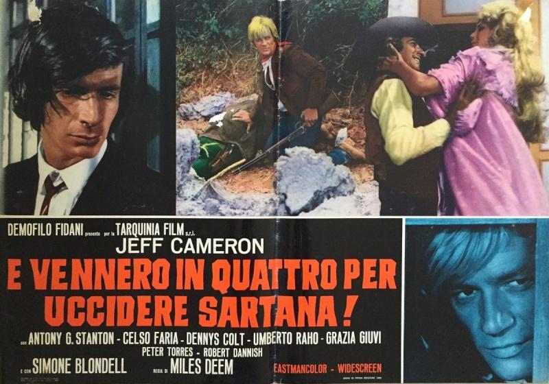 Quatre pour Sartana - E Vennero in Quatro per uccidere Sartana - Demofilio Fidani - 1969 4pour_18