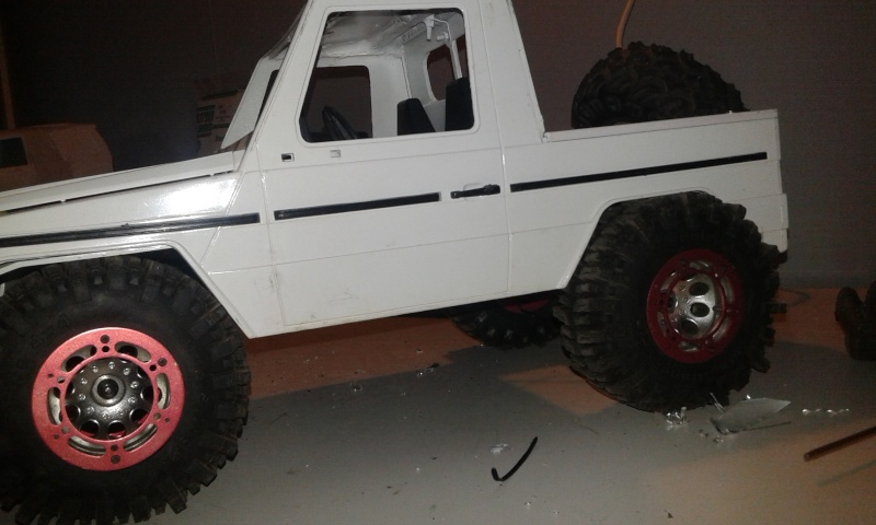 Proyecto Mercedes g trial extremo M210