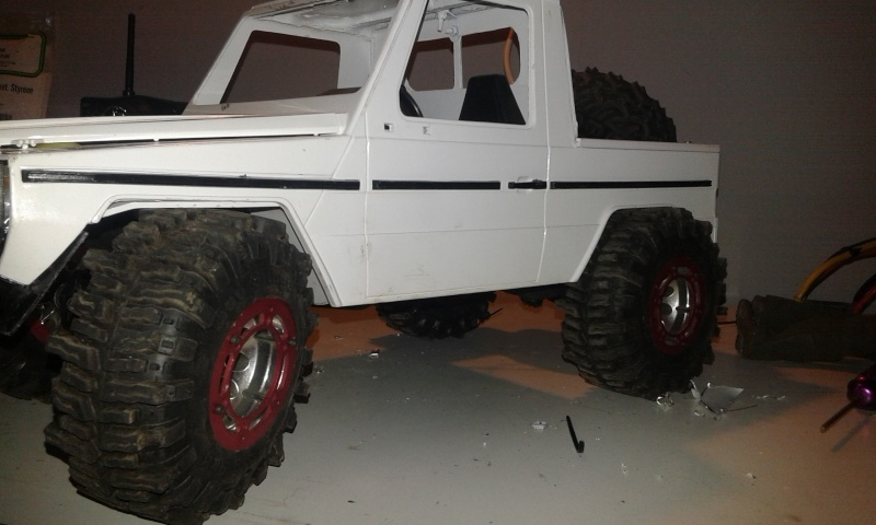 Proyecto Mercedes g trial extremo M411