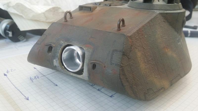 Tamiya King Tiger Porsche Turret... da statico a dinamico. 01410
