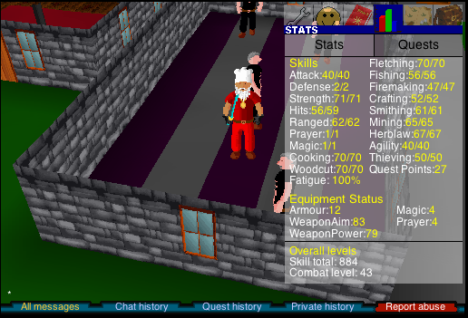 Blast from the past - Runescape Classic goals Fa834711