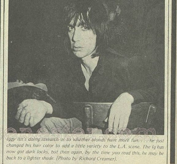 Iggy post Stooges in 1974 Screen12
