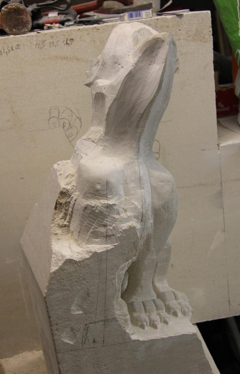 L'ébauche de ma 1ère sculpture. 07_01_10