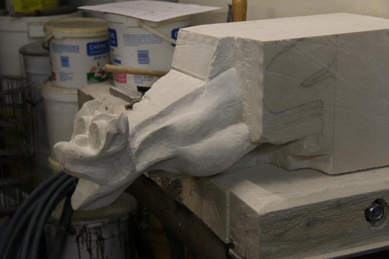L'ébauche de ma 1ère sculpture. 12_12_10