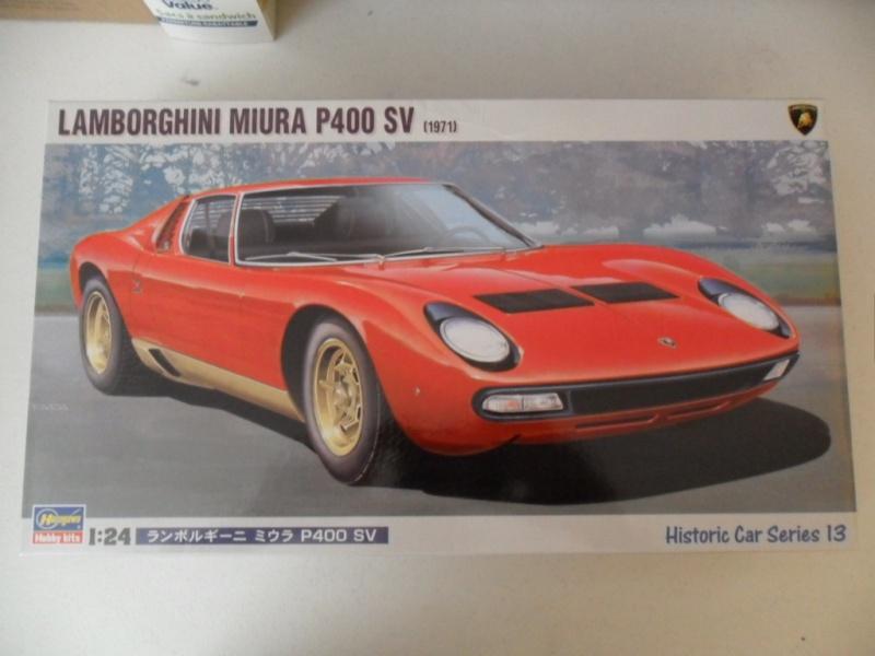 Hasegawa Lamborghini Miura P400 1971 Sam_1710