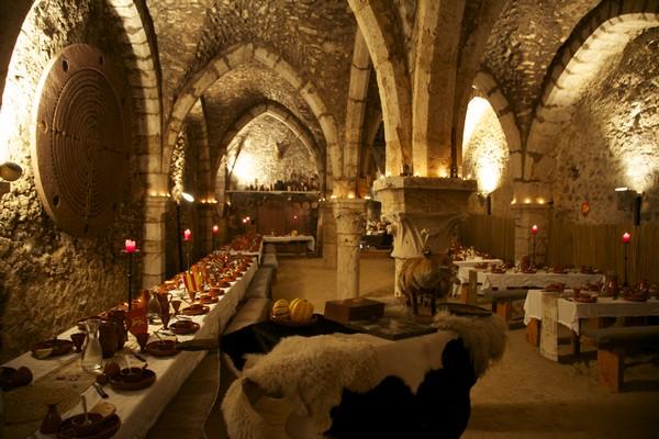 Banquet pour le mariage de Spagnolo et de Flora Banque10