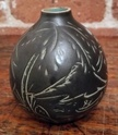 Can't ID mark or artist, small Denmark vase  - FRP? HRP? stamp Myster13