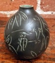 Can't ID mark or artist, small Denmark vase  - FRP? HRP? stamp Myster16