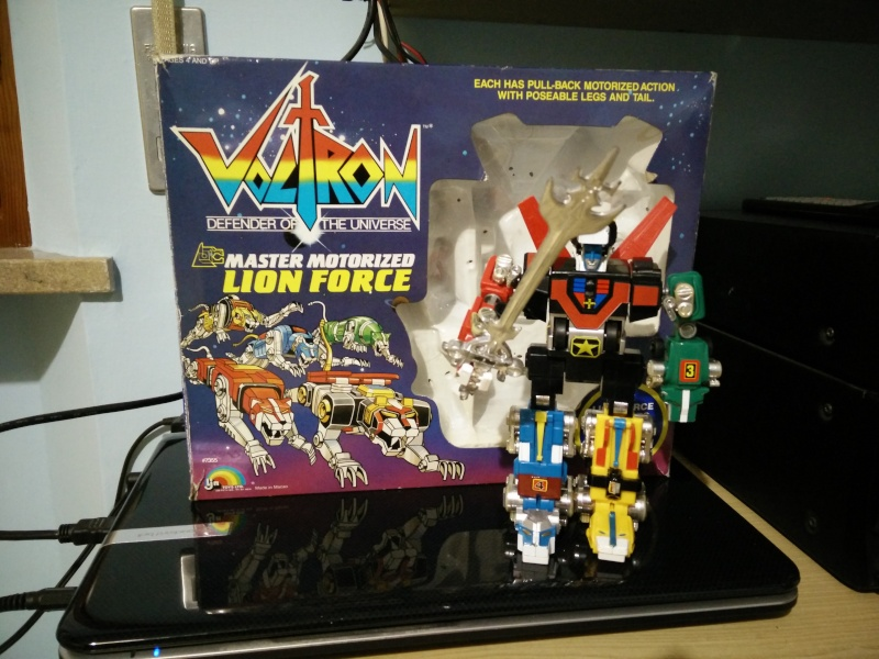 VOLTRON Master Motorized Lion Force Img_2030