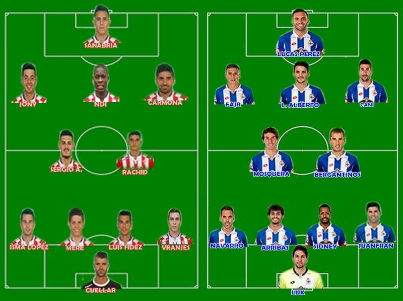 Jornada 23: Sporting - Deportivo Spo-de10