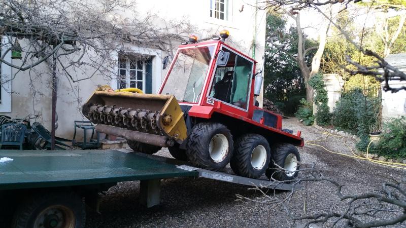 LBC: Tracteur de pente débroussailleur VP 5000 20151249