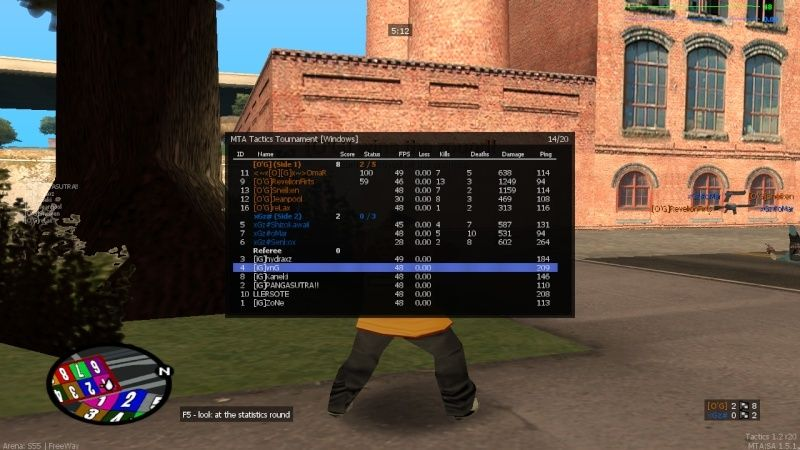 Group 1: [O'G] vs xGz# [Group Stage] [ENDED] Mta-sc12