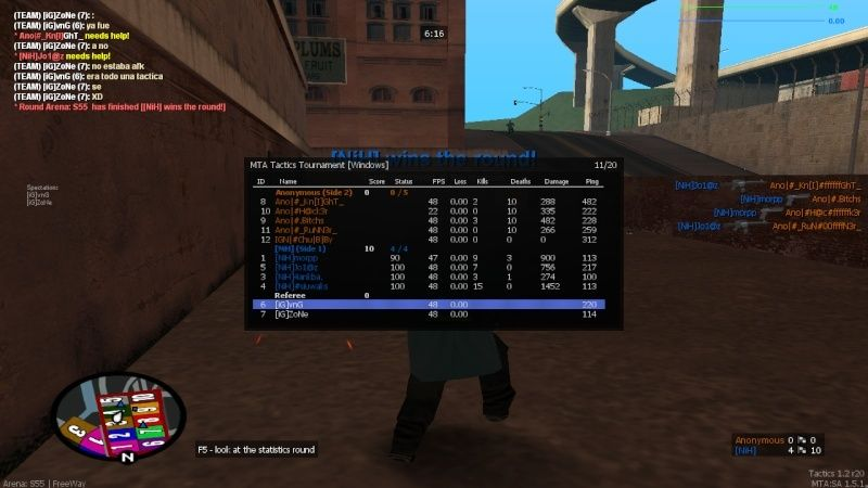 Group 1: [Anonymous] vs [NiH] [Group Stage] [ENDED] Mta-sc17