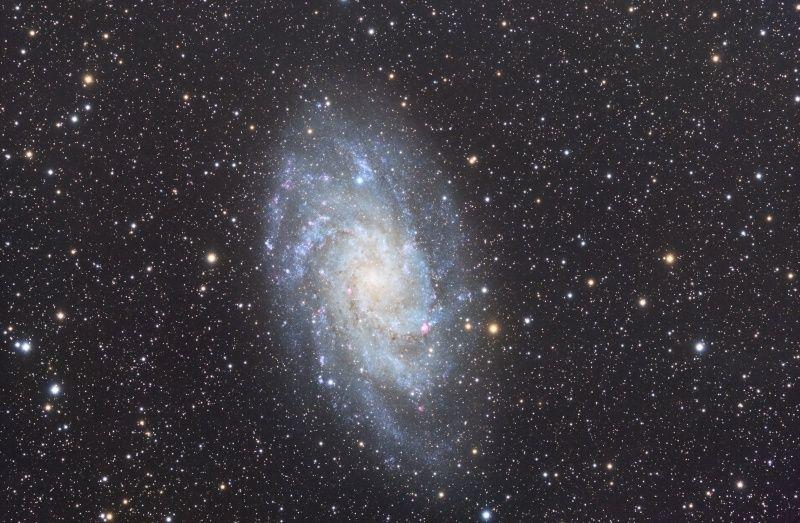 Premiere image couleur  M33 M3310