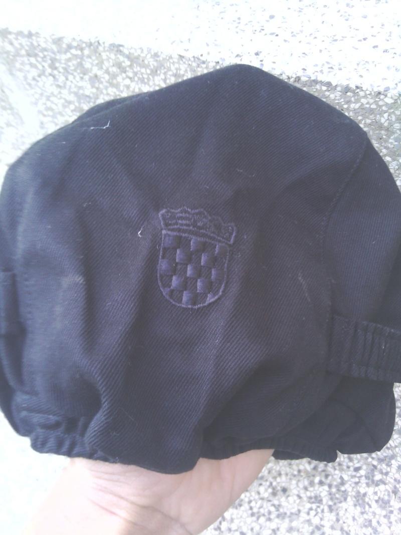 Special police black helmet cover Img_2025