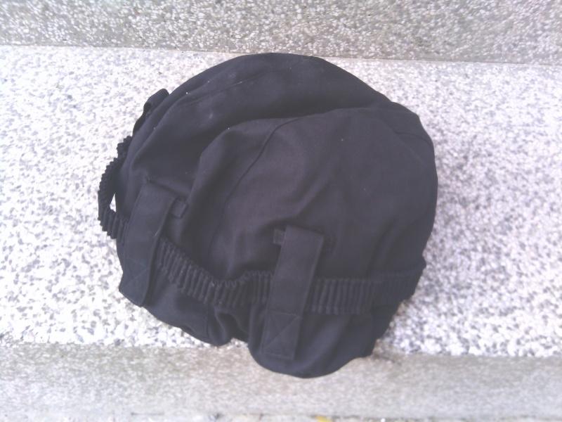 Special police black helmet cover Img_2026