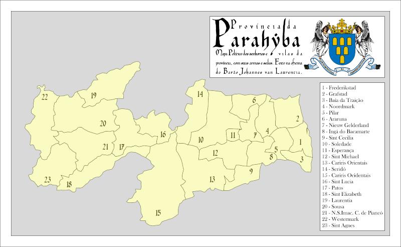 [CART003] Mapas da Parahyba Mapa10
