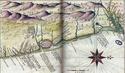 [CART001]  Mapas Históricos do Litoral da Parahyba. João Teixeira, 1640 Mapa-h10