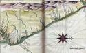 [CART001]  Mapas Históricos do Litoral da Parahyba. João Teixeira, 1640 Nordes10