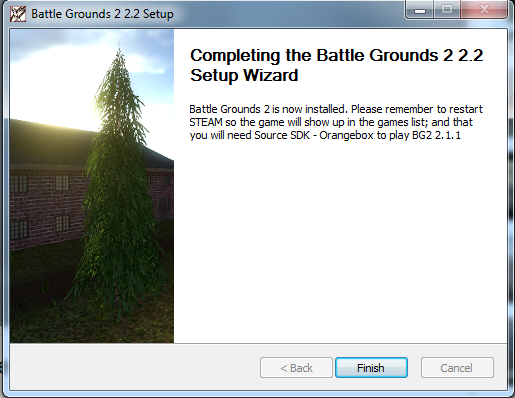 Guide on installing Battlegrounds 2 for public players. Pic_610