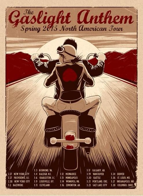 Looking for 2015 Spring North American Tour Poster Image12