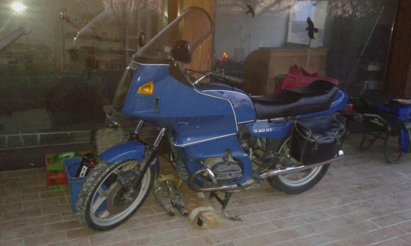 "R80RT Monolever, histoire d'une grosse transfo ""Evergreenbike"" - Page 5 20151214"