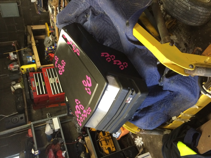 pink cheetah tractor build. Img_0615