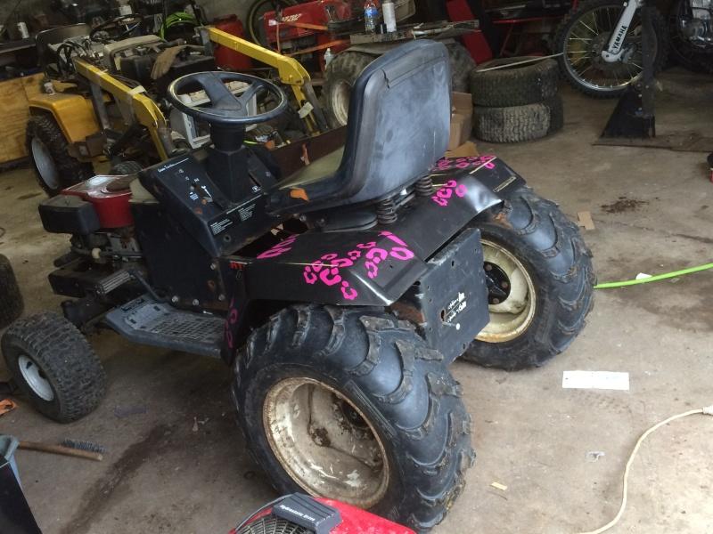 pink cheetah tractor build. Img_0617