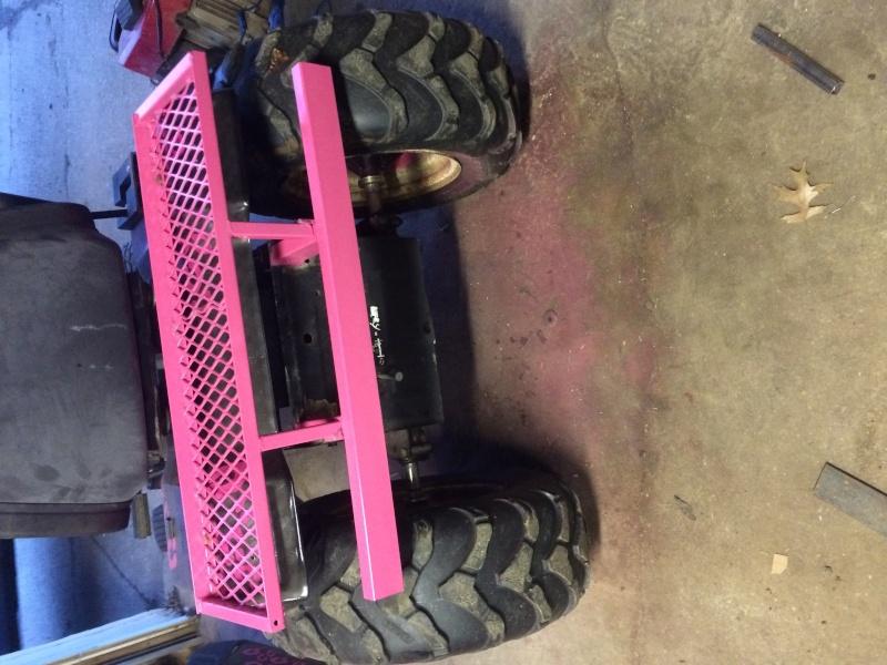 pink cheetah tractor build. Img_0713