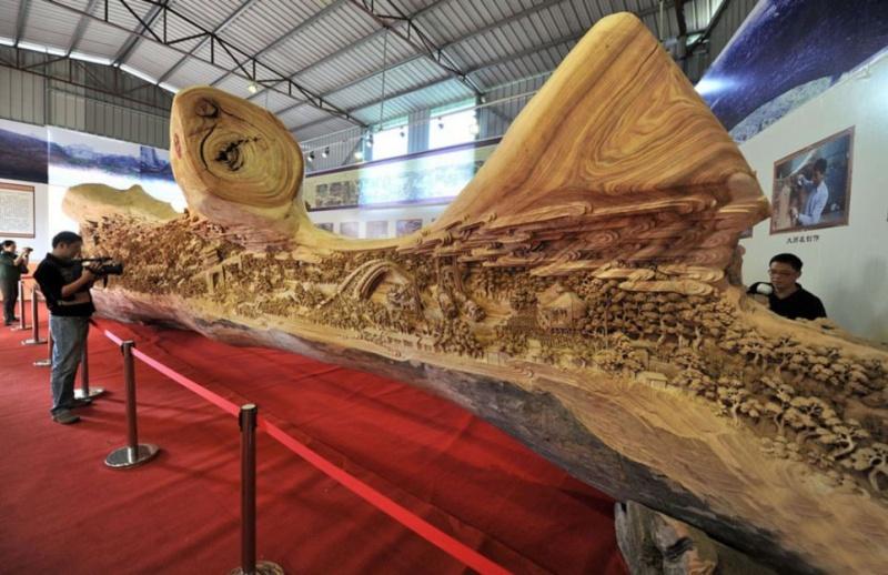 Sculpture sur bois Att00010