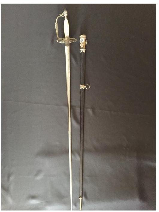 épée de commissaire des guerres A110