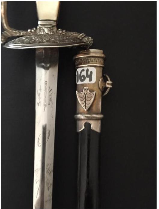 épée de commissaire des guerres A310