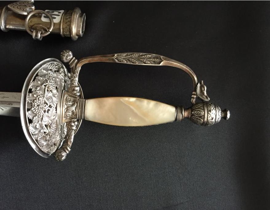 épée de commissaire des guerres A510