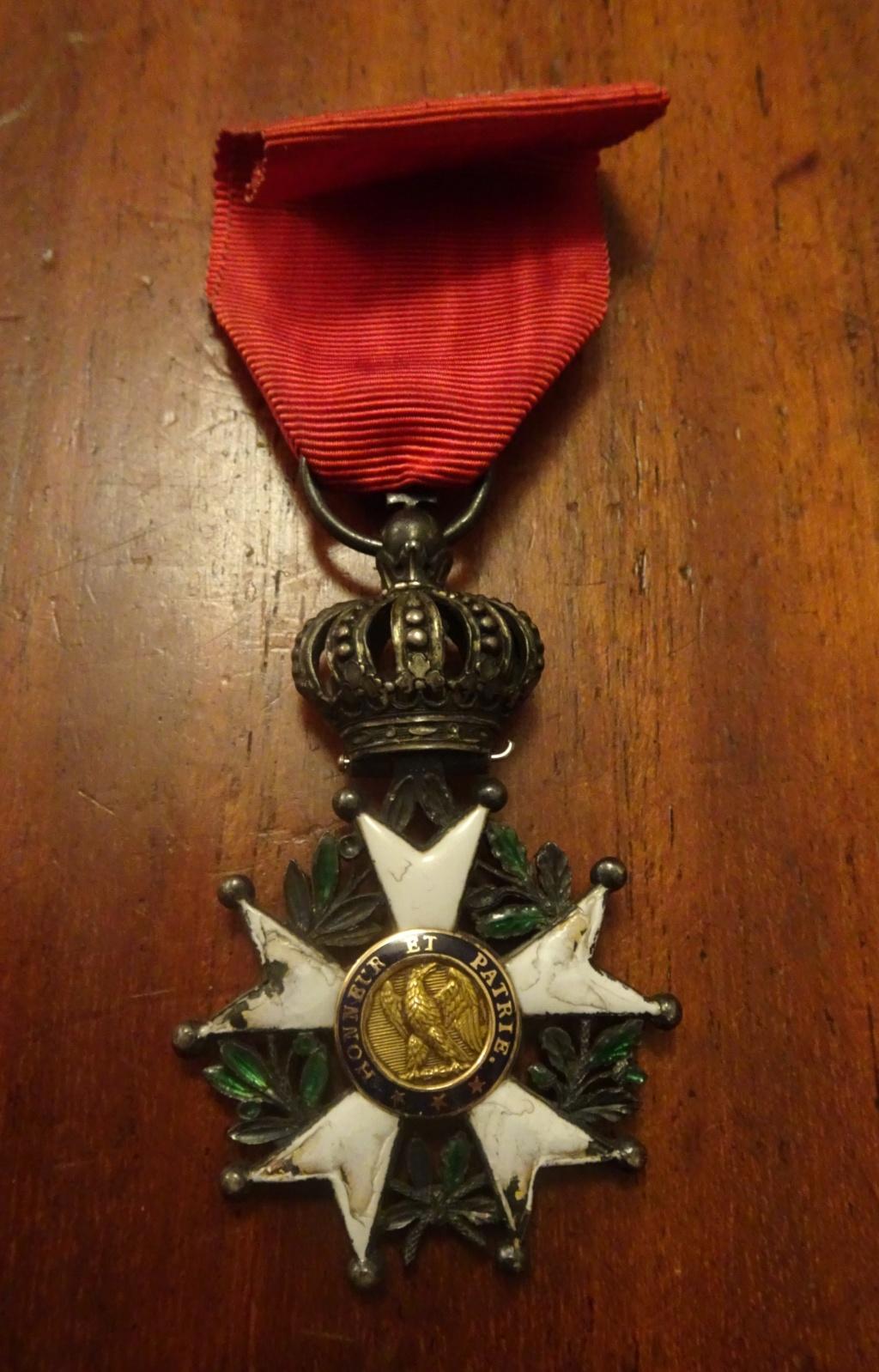 2 médailles de la Légion d'honneur Ier Empire Dsc01810
