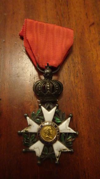 2 médailles de la Légion d'honneur Ier Empire Dsc01811