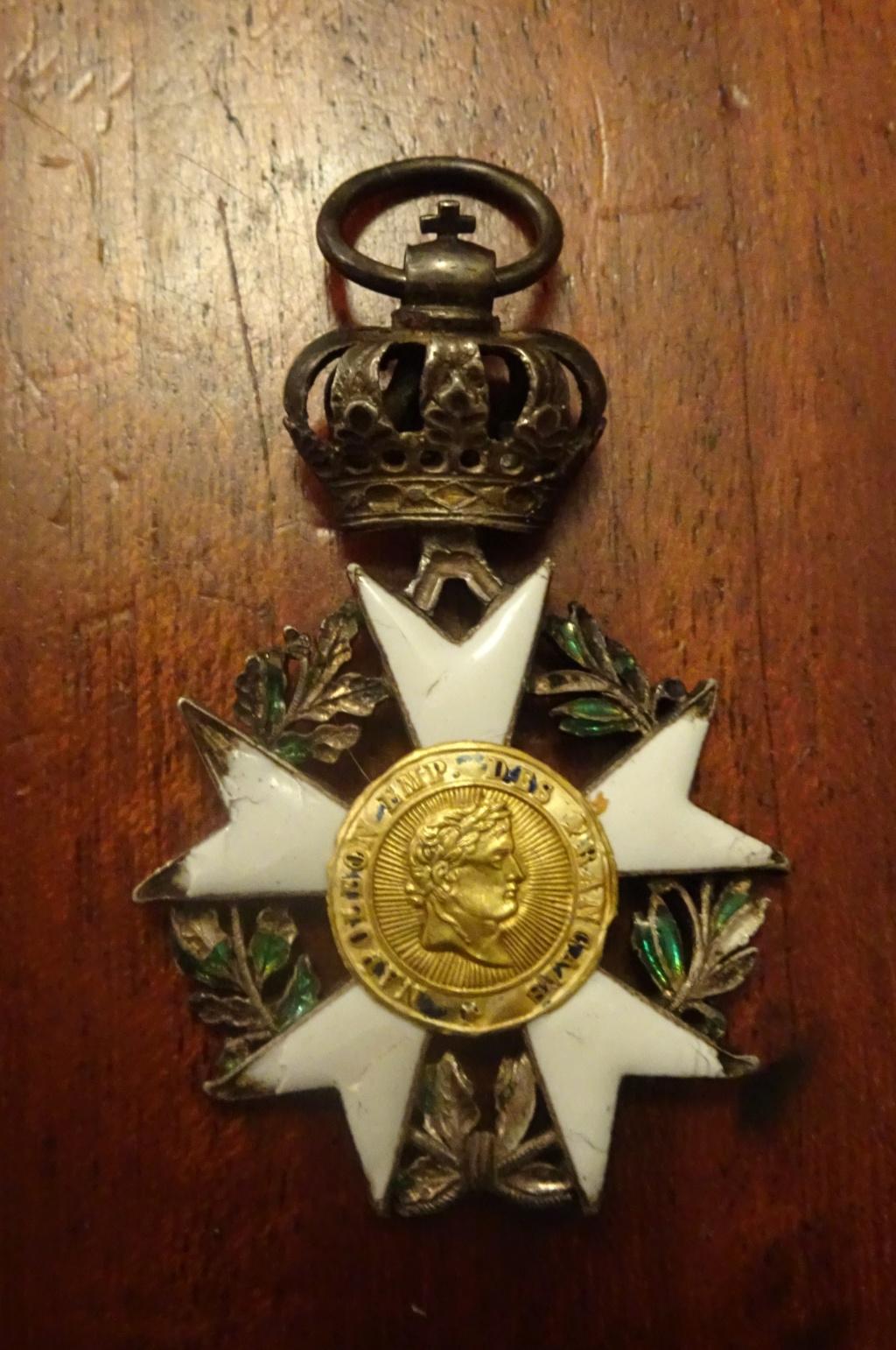 2 médailles de la Légion d'honneur Ier Empire Dsc01812