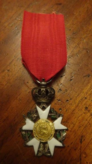 2 médailles de la Légion d'honneur Ier Empire Dsc01815